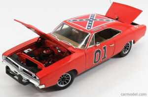 1/18 diecast NEUF 1969 CHARGER GENERAL LEE