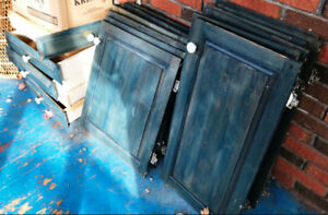 REDUCED - Solid Pine Raised Panel Doors and Few Drawers