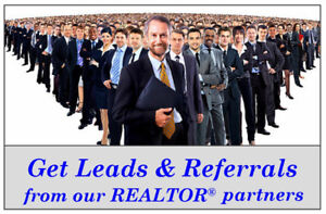 REALTORS . .  Register FREE for Leads and Referrals . . .