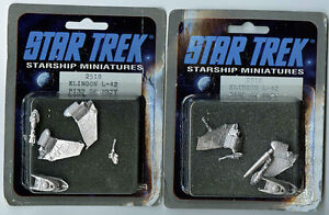 STAR TREK STARSHIP MINIATURES BY FASA & RAFM 1988