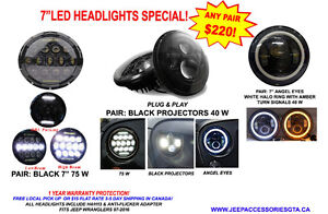 JEEP WRANGLER ACCESSORIES/PARTS & LED LIGHTS London Ontario image 2