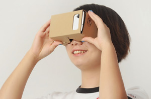 Brand New Google Cardboard Virtual Reality 3D Glasses