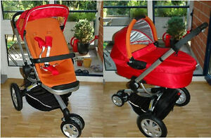 quinny buzz stroller and dreami carrycot
