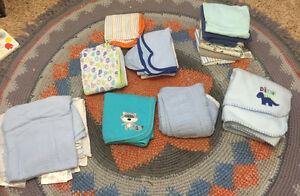 Baby blankets and towels lot