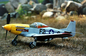 P51 Mustang Balsa Model Kit