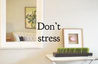 Clean, de-clutter, organize and de-stress