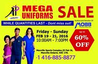 UNIFORM SALE UP TO 60% OFF 3 DAYS ONLY
