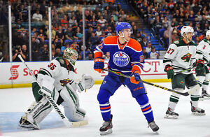 OILERS VS WILD - SUNDAY - 2 OR 4 LOWER BOWL SEATS