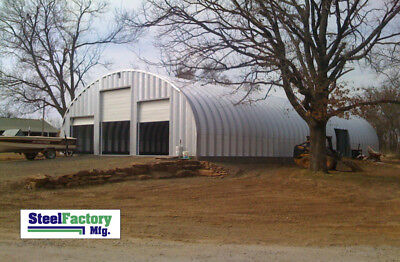 Steel Factory Mfg S40x40x16 Metal Arch Agricultural Commercial Storage Building