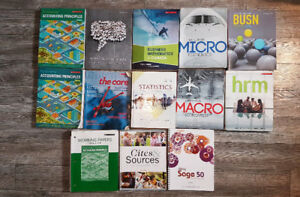 Red River College Business Administration Books (1st Year)