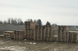 FREE PALLETS or FREE FIREWOOD