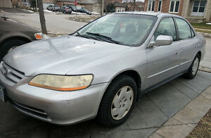 2001 Honda Accord LX Sedan With Emission & Safety