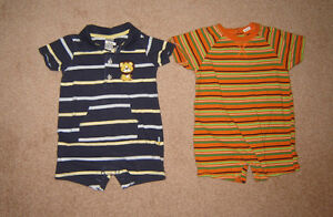 Boys Sleepers, Pj's, Clothes, Winter Sets - 12, 12-18, 18, 18-24 Strathcona County Edmonton Area image 2