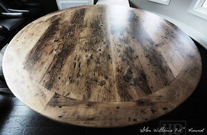 Gray Reclaimed Wood Tables with Smooth, Durable Finishing Oakville / Halton Region Toronto (GTA) image 3