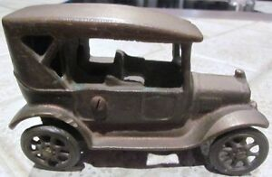 """Antique Cast Iron Toy Car – Stamped """"Made in Canada"""" Cambridge Kitchener Area image 2"""