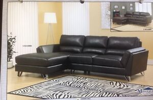 Brand new leather 2 pc sectional for $898 only+FREE DELIVERY