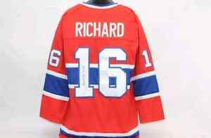 Henri Richard Signed jersey