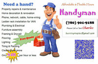 Affordable Handyman /Home Cleaning/Flooring -Flexible Hours