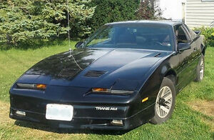 1986 PONTIAC TRANS AM...only 150,000km...NEVER winter driven...