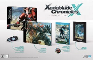 **SEALED** Xenoblade Chronicles X with CE Guidebook!