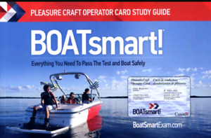 Pleasure Craft Operator License for all boats and all PWC's