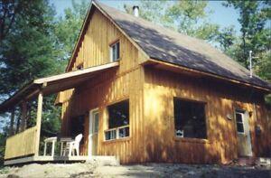 Maison à louer, avec bail annuel, bord de lac