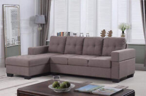 CANADA MADE L SHAPED SECTIONAL SET GST INCLUDED@699 ONLY