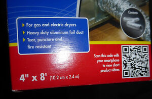 NEW in Box dryer vent duct Kitchener / Waterloo Kitchener Area image 2