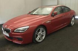 2015 RED BMW 640D GRAN COUPE 3.0 M SPORT DIESEL AUTO 4DR CAR FINANCE FR £100 PW