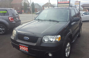 2007 Ford Escape XLT SUV, Crossover 2 yrs war