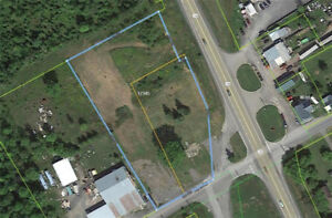 2.32 ACRE COMMERCIAL ZONED LAND ON BUSY INTERSECTION