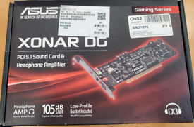 ASUS Xonar DG PCI 5.1 Sound Card PC Computer