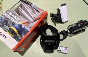 Waterproof Sony Action Camera Mini with Live View wrist remote