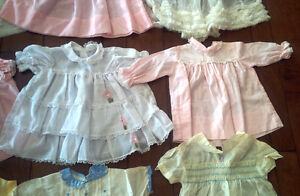 Nine Vintage Baby/Doll Dresses, Outfits, Most With Embroidery Kitchener / Waterloo Kitchener Area image 6