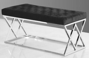 Upholstered Luxury Accent Bench/Ottoman-Brand New