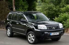 Nissan X-Trail 2.0i ( alloys ) SE 2004 Black.