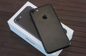 iPhone 7 128GB Matte Black With Everything In Box Great Condition