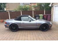Mazda MX5 55000 miles limited edition top spec