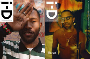 Frank Ocean Magazine I-D COVER 1&2 #350 WINTER