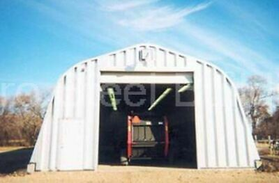 Durospan Steel 40x74x18 Metal Building Machine Shop Farm Equipment Shed Direct