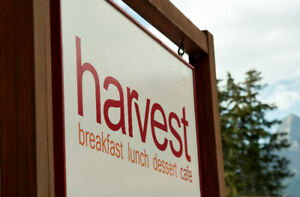 Harvest Cafe in Canmore for sale