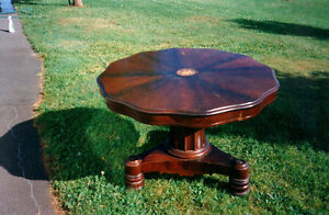 antique dining or games table