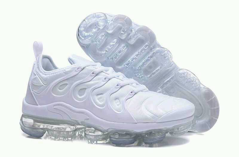 Brand New Nike Air Vapormax Tn Plus Exclusive All Blanc in