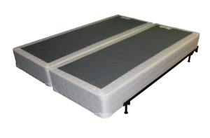 WANTED:  KING SIZE SPLIT BOX SPRING & METAL BED FRAME