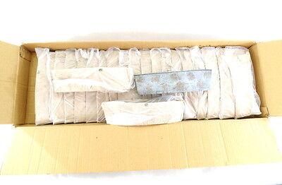 1 Karton  Metallgefäße 20 Stück  blau grau 30 x 8 x 6,5  Wiederverkäufer!