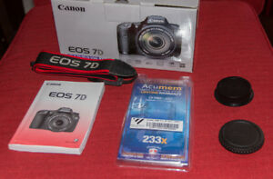 Canon 7D DSLR Camera with 15-85mm f3.5-5.6 IS USM Lens