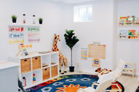 Child Care two spots for ages 12 months - 4 years!