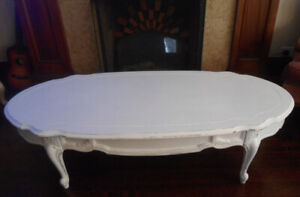 Oval French Coffee Table