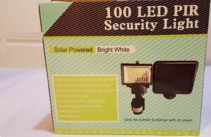 100 LED Solar Outdoor Security Motion Light ( FACTORY PRICE).