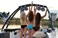 Monster Wakeboard Towers at NEW COAST MARINE